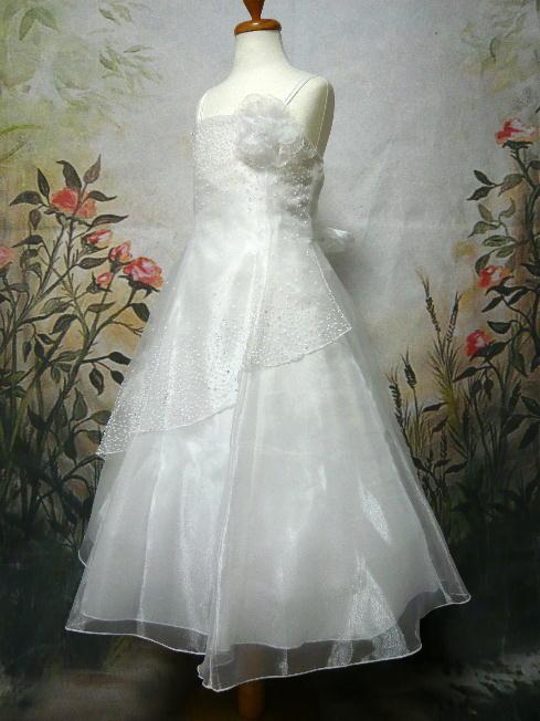 子供ドレス アンナ ホワイト