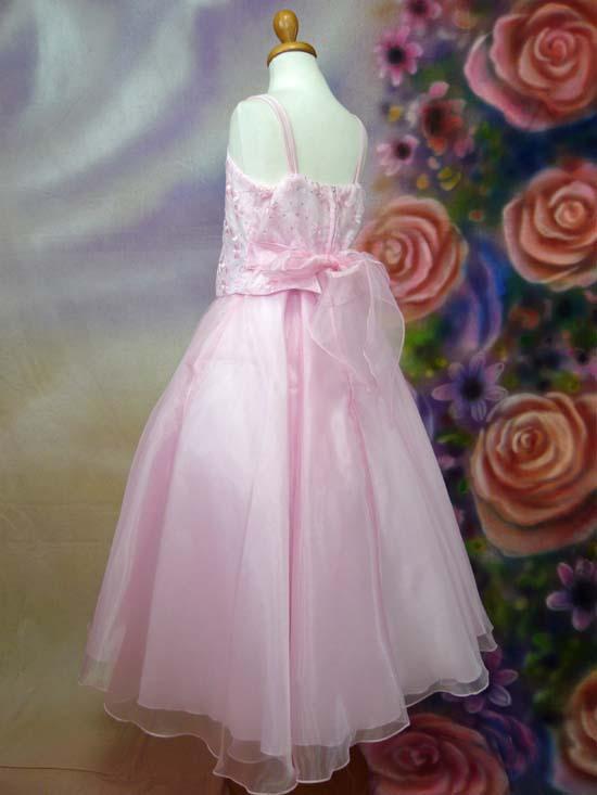 子供ドレス サンドラ ピンク