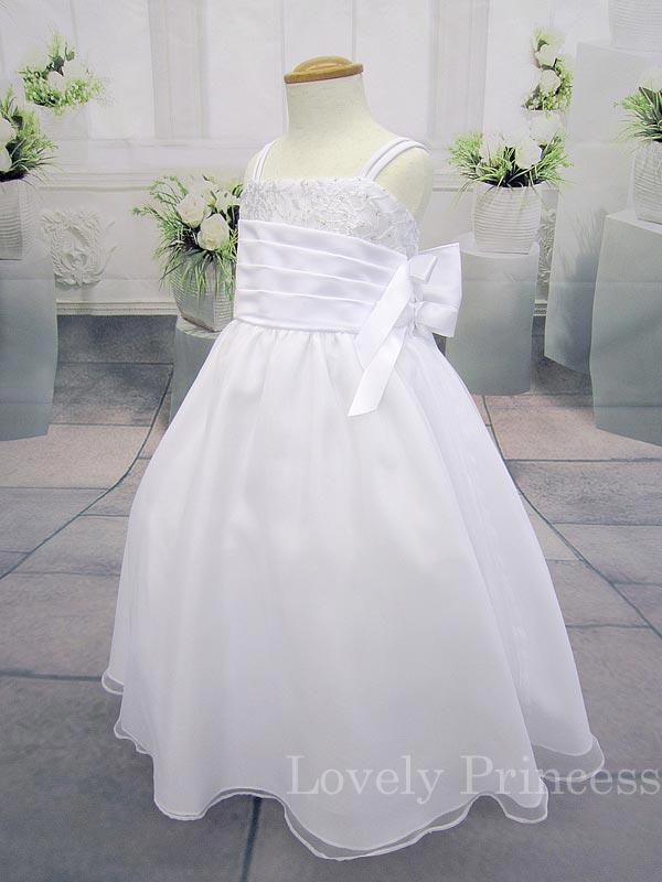 子供ドレス アリシア ホワイト