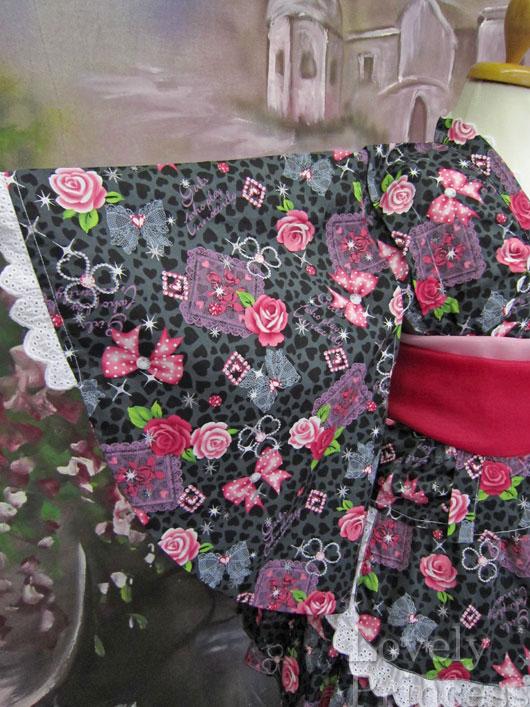 浴衣ドレス(622683)ブラック/100cm